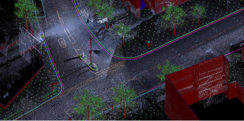 3D Laser Scanning Point Cloud